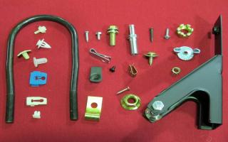 CLIPS- SCREWS- BOLTS- BRACKETS