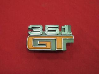 XA 351 GT GUARD BADGE