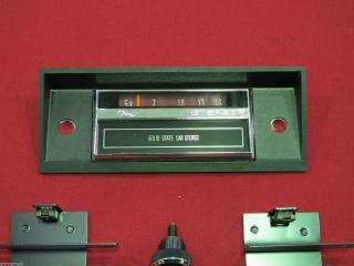 8 track dummy radio face xa