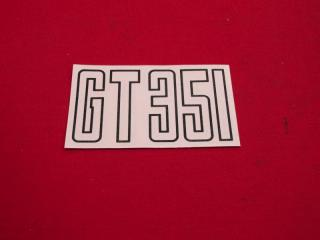 351 BOOT DECAL