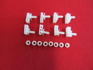 LOWER REAR SCREEN MOULD CLIP KIT